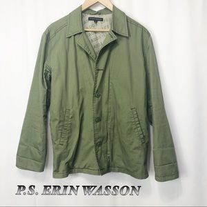 PS Erin WASSON Army Green Utility Jacket M